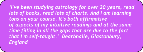 Introduction to Astrology Self-Study Course | Awakenings